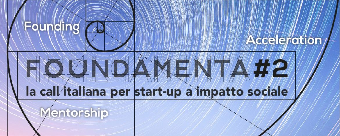 FOUNDAMENTA #2 la call italiana per business idea e start-up a impatto sociale